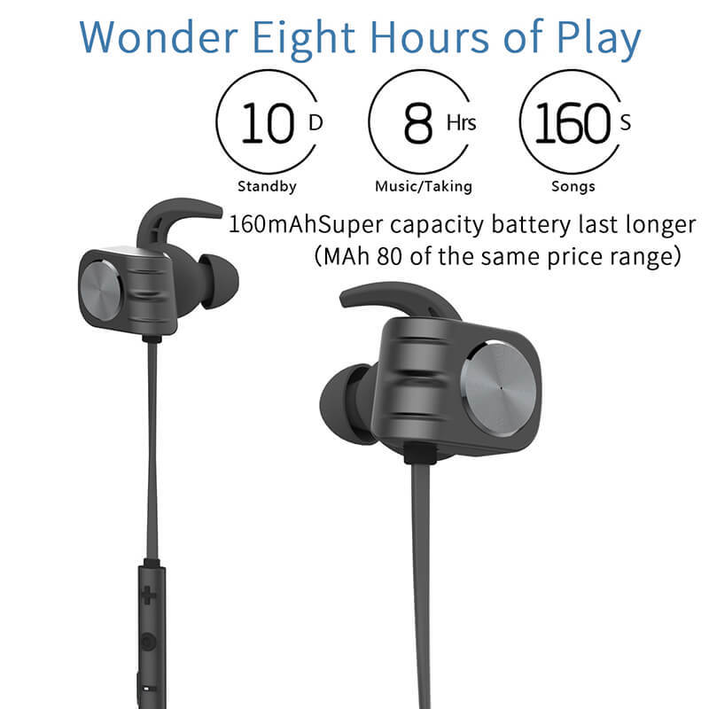 ROYAL TANIC sony magnetic wireless earphones from China for running-2