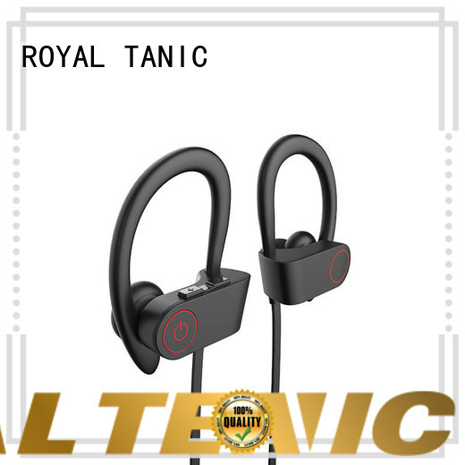 ROYAL TANIC sports bluetooth headphones manufacturer for gym