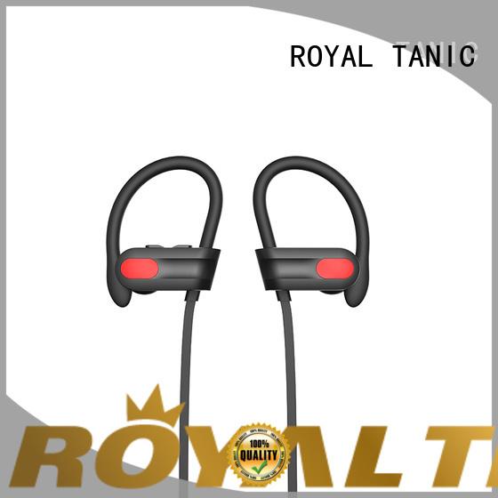 best earphones for running popular for hiking ROYAL TANIC