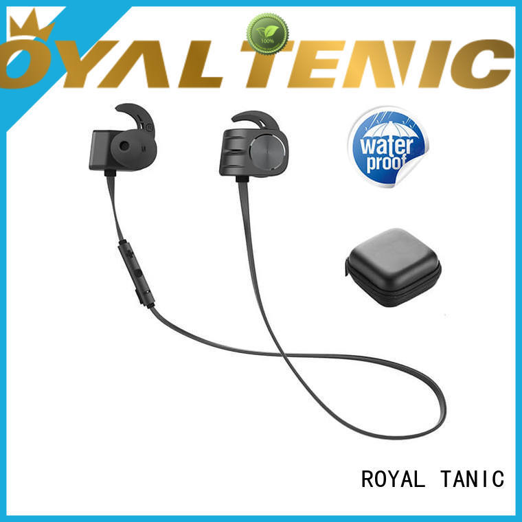 ROYAL TANIC headphones magnet bluetooth headset manufacturer for hiking