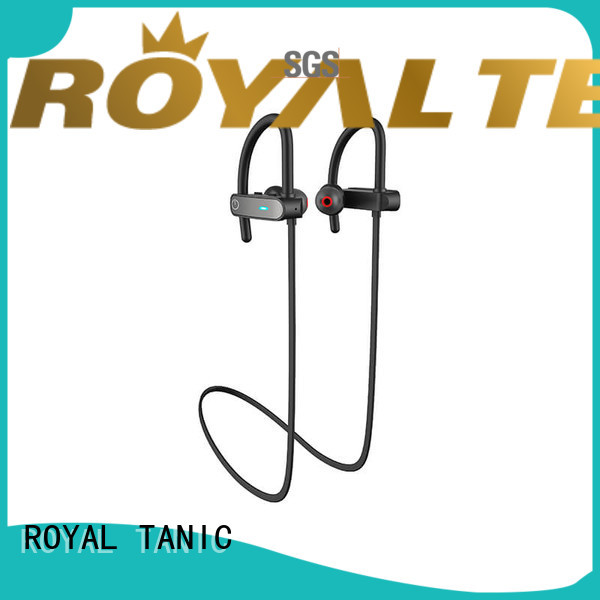 ROYAL TANIC practical sports bluetooth headphones from China for exercise