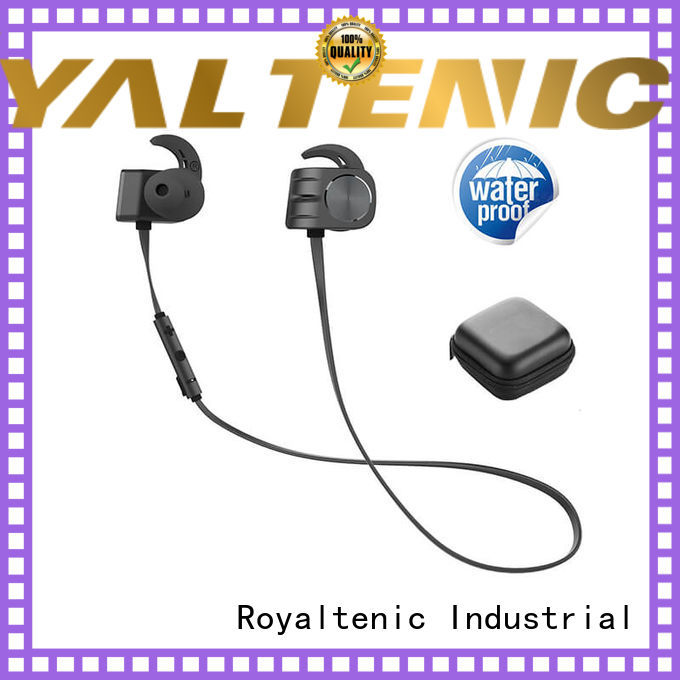 headphones necklace stereo OEM magnetic bluetooth earphones ROYAL TANIC