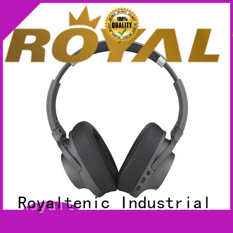 ROYAL TANIC ear noise cancelling headset promotion for office