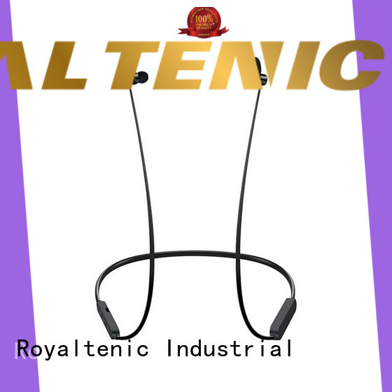 ROYAL TANIC high quality magnetic bluetooth earphones manufacturer for gym