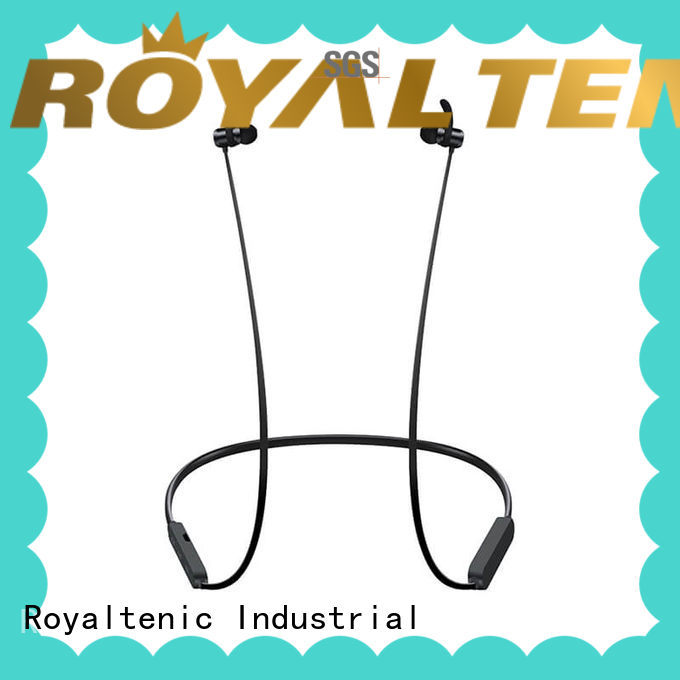ROYAL TANIC stereo magnet bluetooth headset design for daily life