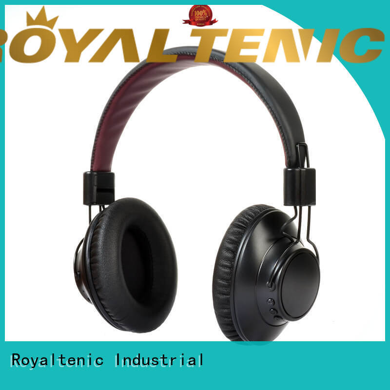 noise isolating headphones bluetooth for airplanes ROYAL TANIC