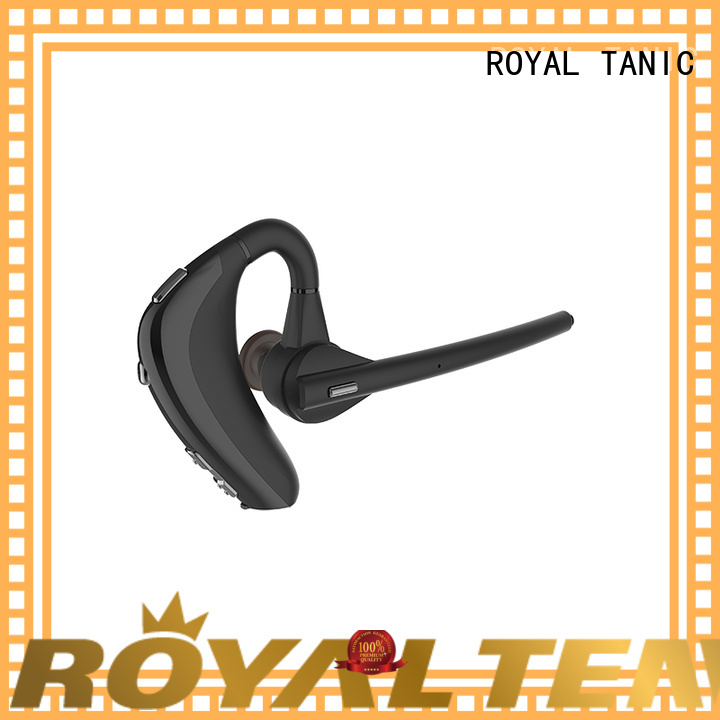 ROYAL TANIC long lasting waterproof bluetooth headphones from China for hiking
