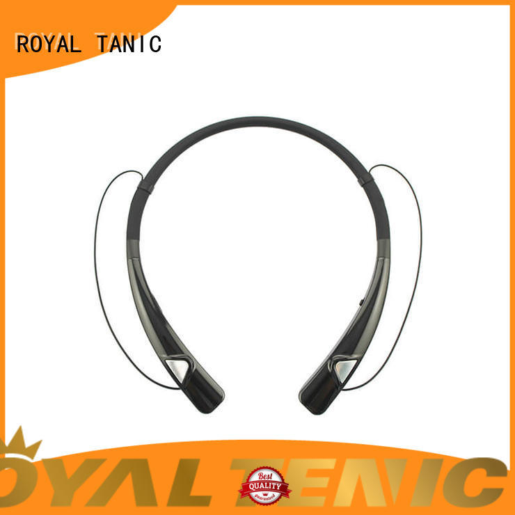 ROYAL TANIC stereo magnetic wireless earphones easy to carry for running