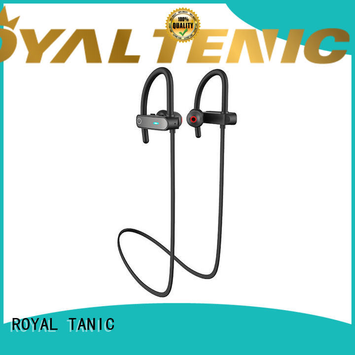ROYAL TANIC bluetooth gym headphones from China for hiking
