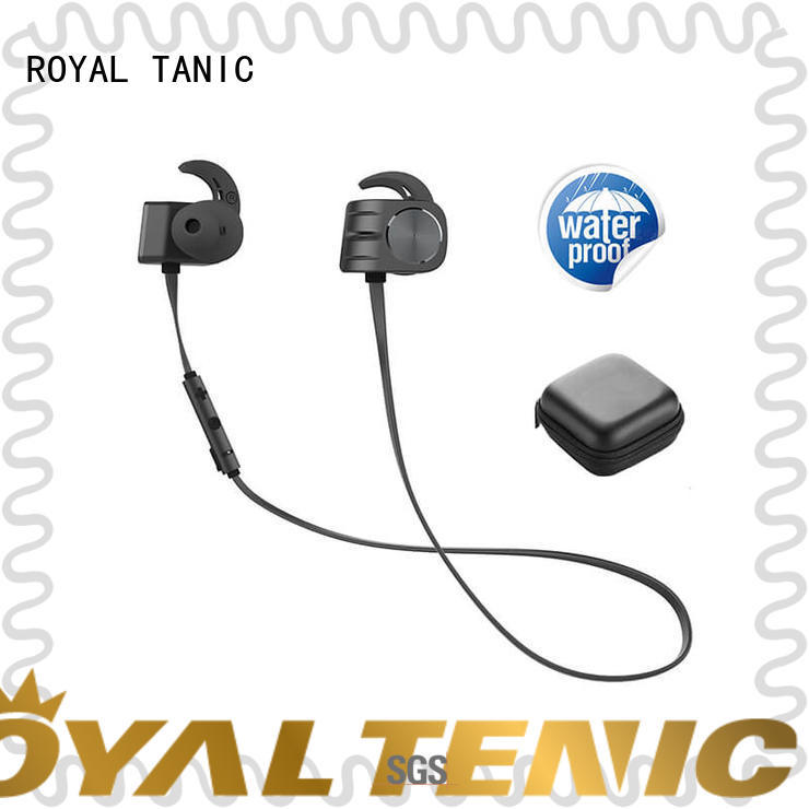 wireless wireless earphones wholesale manufacturer for gym ROYAL TANIC