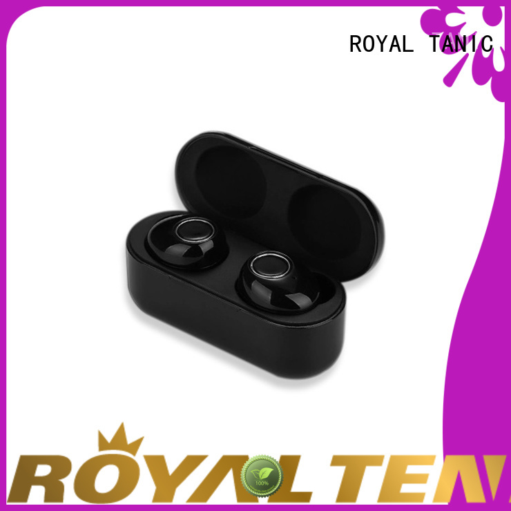 ROYAL TANIC long lasting tws wireless earbuds supplier for tv