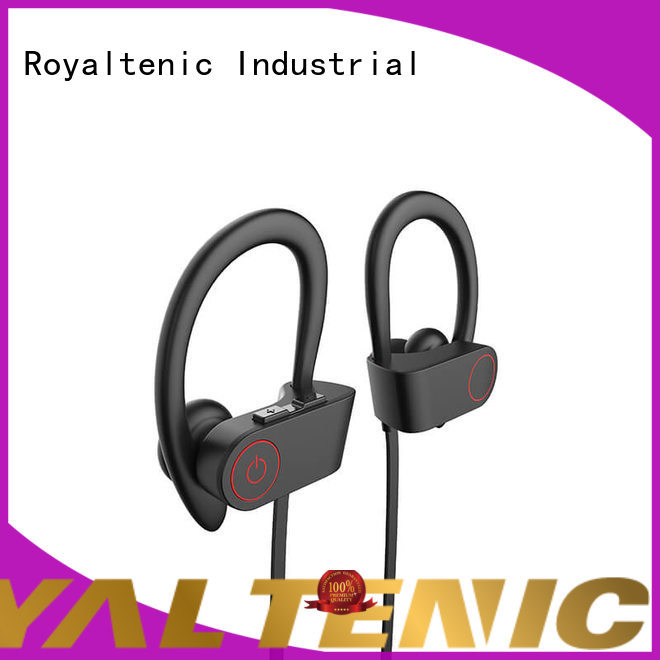ROYAL TANIC long lasting waterproof bluetooth headphones directly sale for hiking