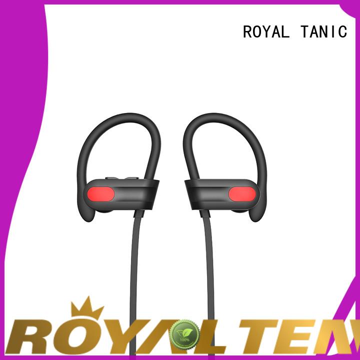 ROYAL TANIC wireless sports bluetooth headphones series for hiking