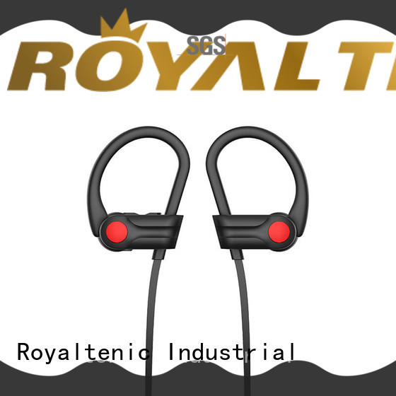ROYAL TANIC durable sports bluetooth headphones customized for exercise