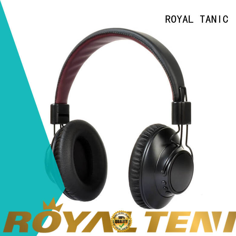 ROYAL TANIC bass noise cancelling headset promotion for office