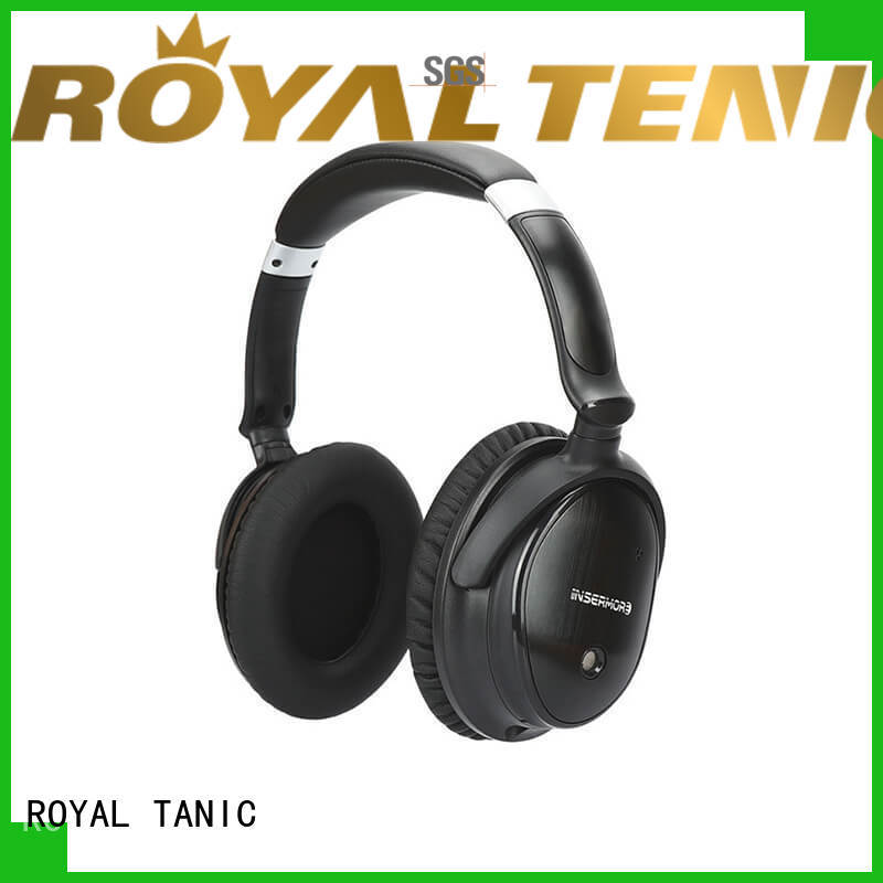 ROYAL TANIC anc bluetooth headphones online for airplanes