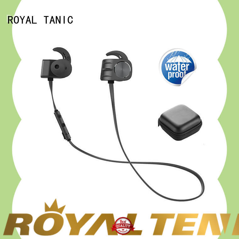 ROYAL TANIC technical bluetooth headphones earphones directly for outdoor sports