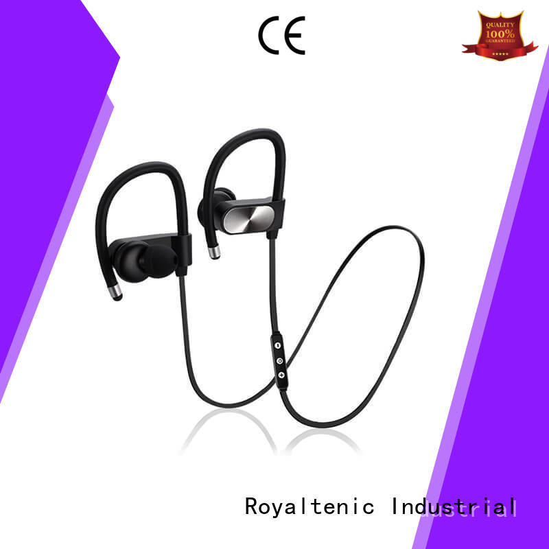 best wireless headphones for gym cancelling sports bluetooth headphones ROYAL TANIC Brand