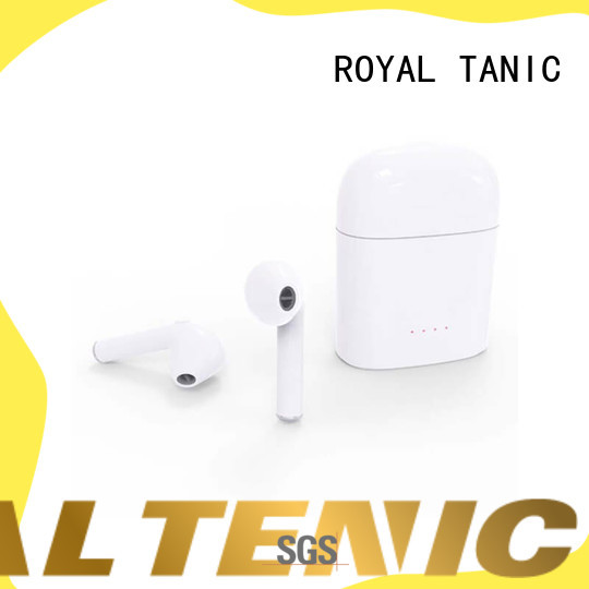 ROYAL TANIC tws wireless earbuds supplier fro daily life