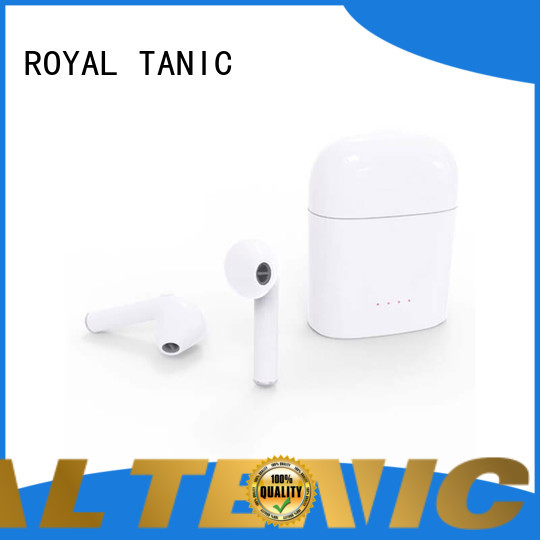 ROYAL TANIC tws wireless earbuds personalized for work