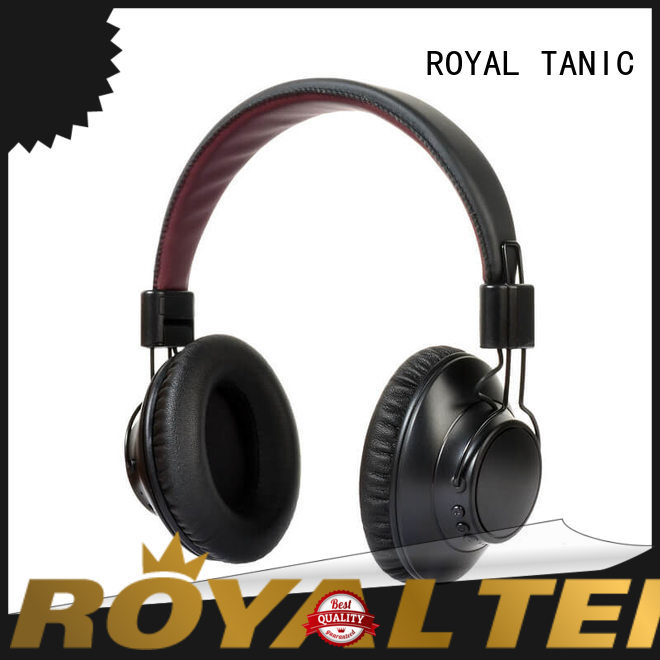 ROYAL TANIC bluetooth noise cancelling headset supplier for office