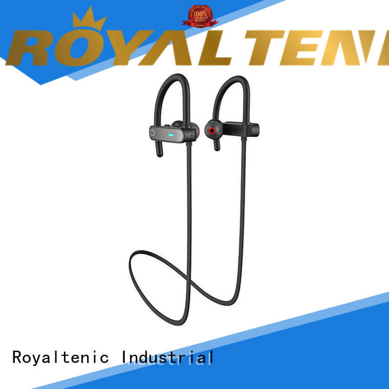design sports bluetooth headset stereo for gym ROYAL TANIC