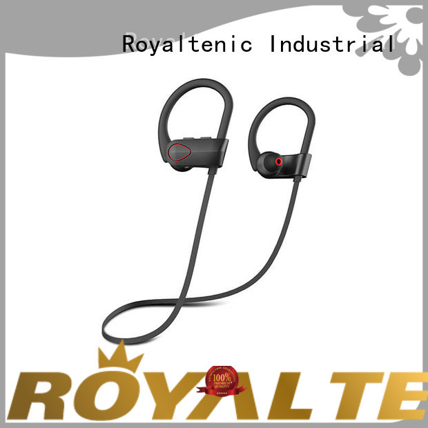 ROYAL TANIC free running earphones from China for hiking