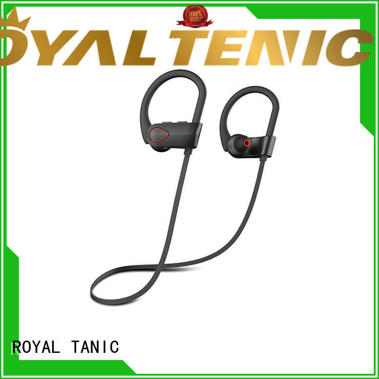 ROYAL TANIC long lasting gym headphones from China for hiking