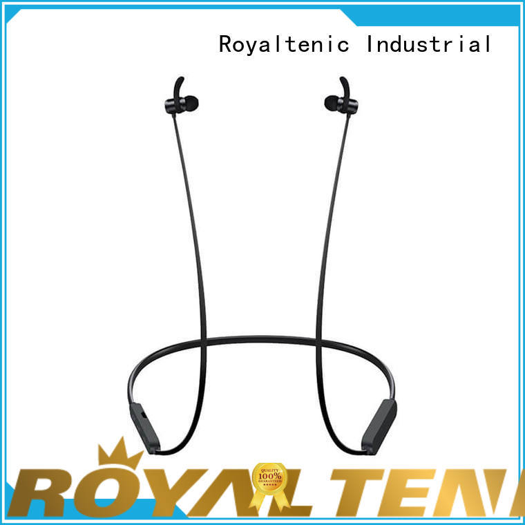 ROYAL TANIC stable magnet sports bluetooth headset design for running