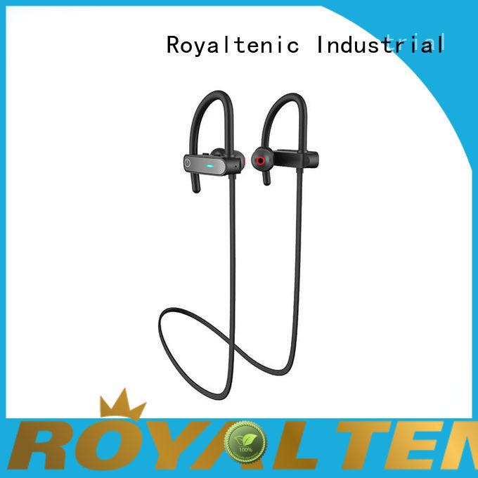 ROYAL TANIC waterproof bluetooth headphones directly sale for hiking