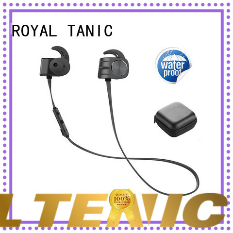 ROYAL TANIC comfortable magnet bluetooth headset design for running