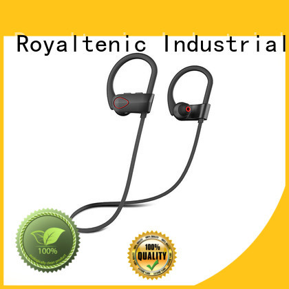 Hot sports bluetooth headphones sellers ROYAL TANIC Brand