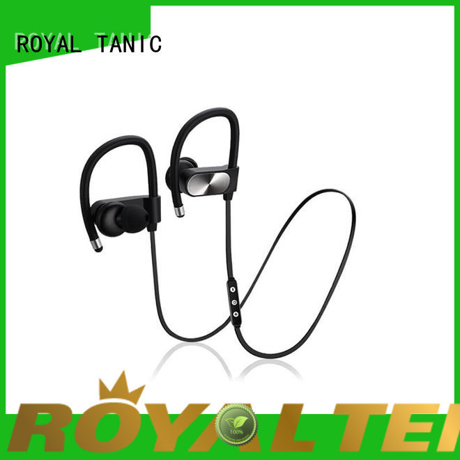 ROYAL TANIC gym headphones customized for running