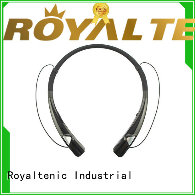 ROYAL TANIC mic magnetic wireless earphones factory price for running