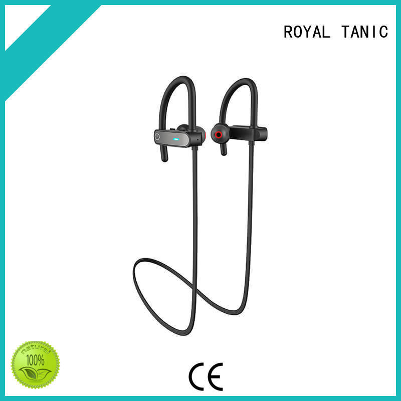 ROYAL TANIC Brand earphones amazon sports bluetooth headphones hd factory