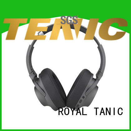 ROYAL TANIC wireless noise isolating headphones on sale for office