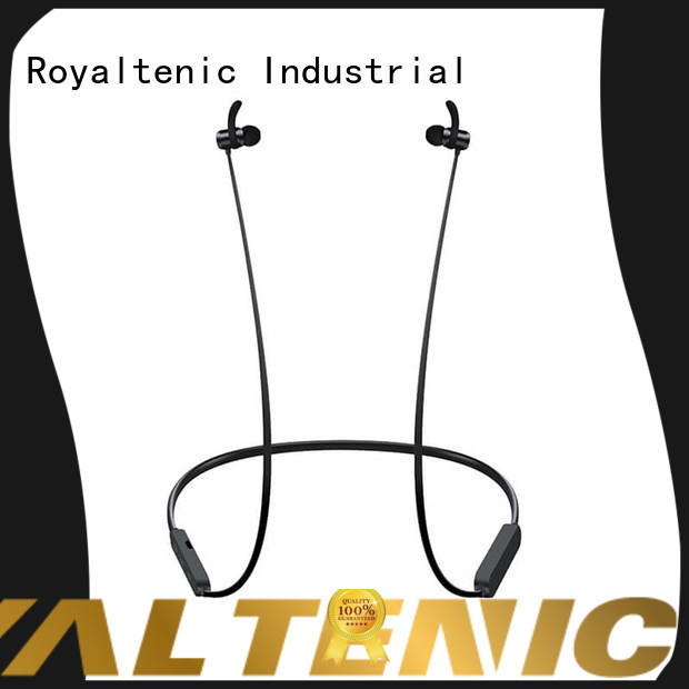 ROYAL TANIC stable magnetic wireless earphones from China for hiking
