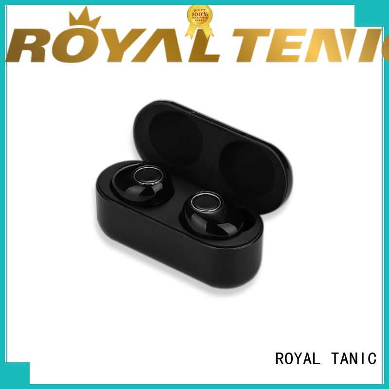 ROYAL TANIC efficient tws earphones factory price for work