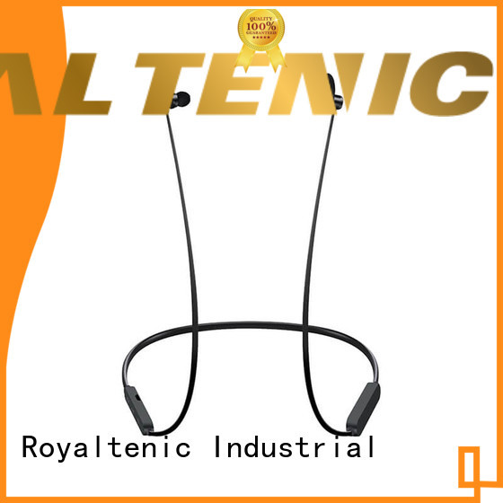 ROYAL TANIC magnet bluetooth headset factory price for gym