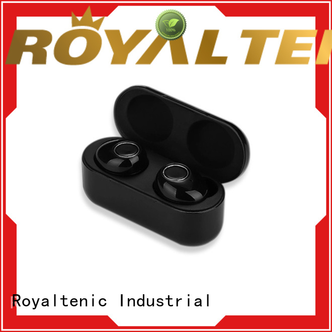ROYAL TANIC quality bluetooth earbuds with mic personalized for phone