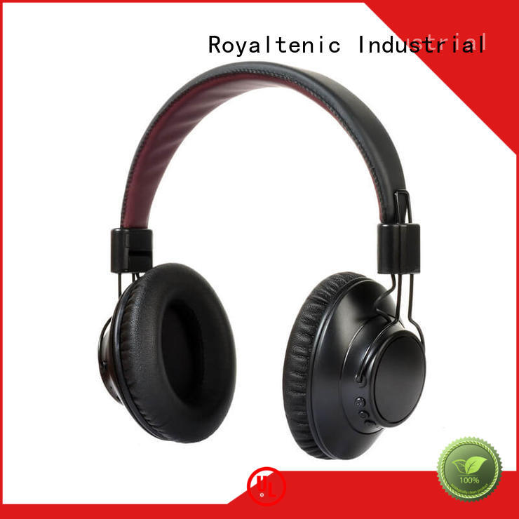 Wholesale wireless noise cancelling headphones with microphone ROYAL TANIC Brand