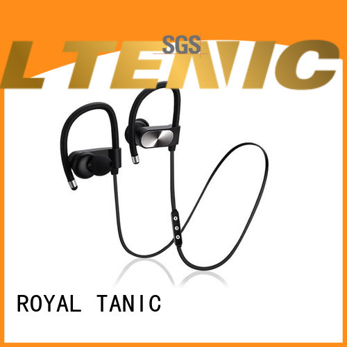 ROYAL TANIC durable sports bluetooth headphones customized for hiking