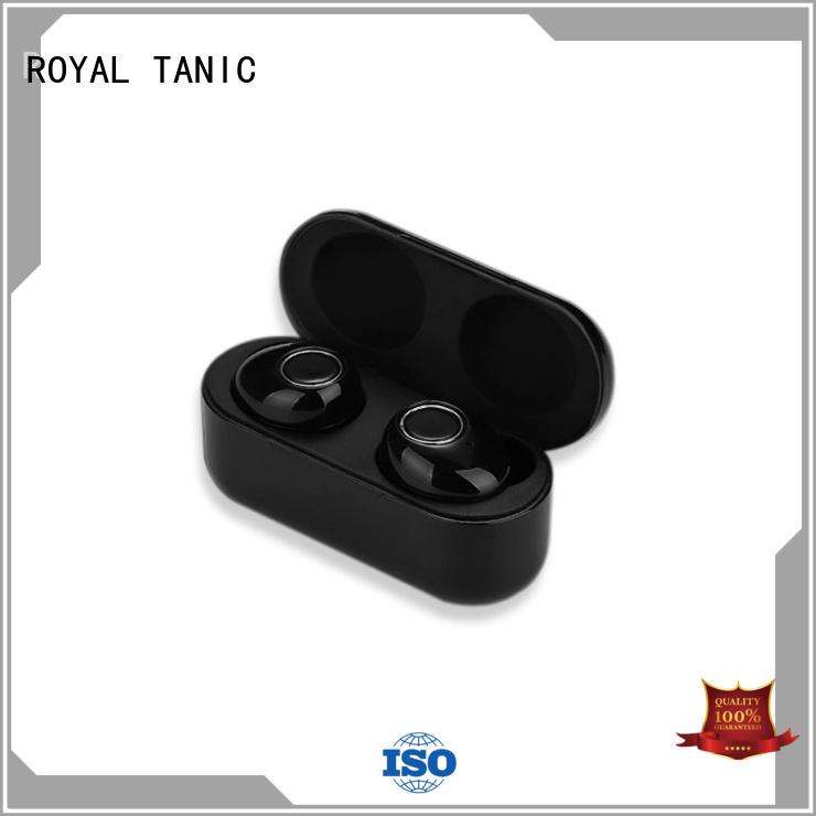 Custom bt bluetooths tws earphones ROYAL TANIC touch