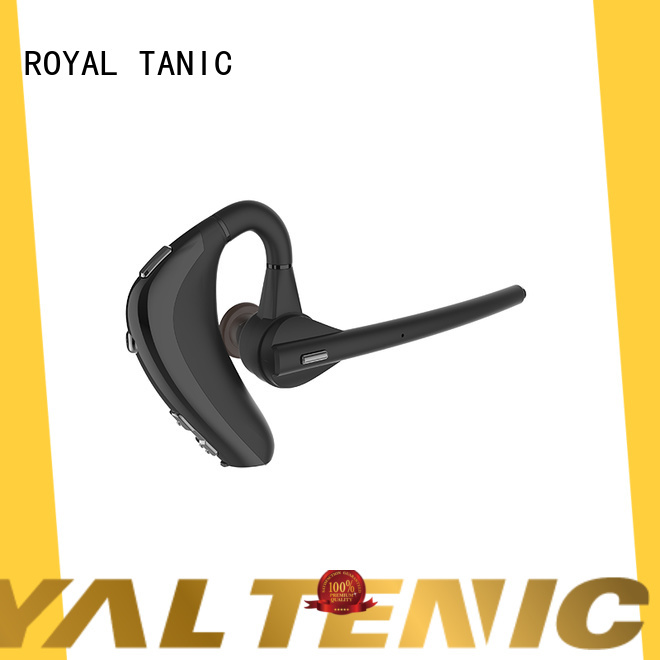 ROYAL TANIC long lasting sports bluetooth headphones manufacturer for exercise