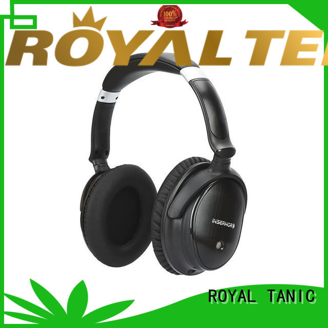 ROYAL TANIC wireless anc bluetooth headphones supplier for home