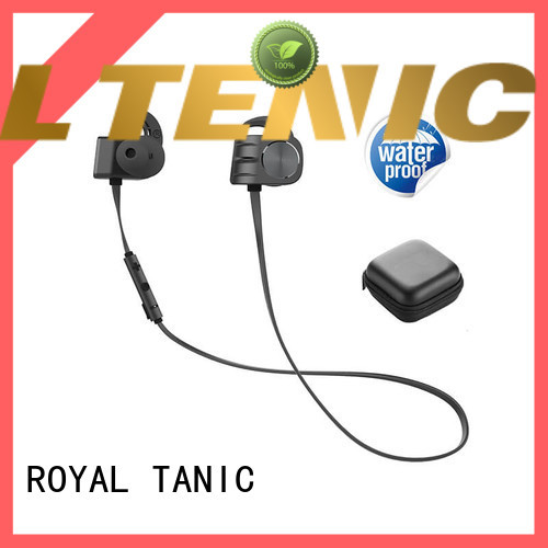 ROYAL TANIC magnetic wireless earphones manufacturer for running