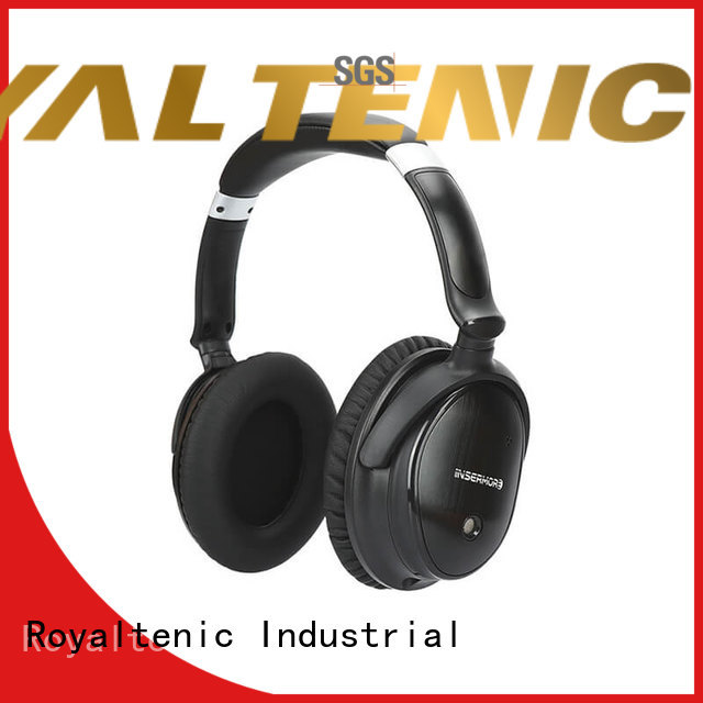 wireless noise isolating headphones ear supplier for airplanes