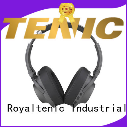 v41 noise cancelling headphones with microphone promotion for airplanes ROYAL TANIC